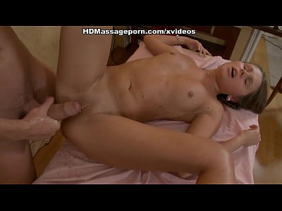 Brunette Hd Massage video: Sweet bimbo gets hardly owned on hot xxx massage clip