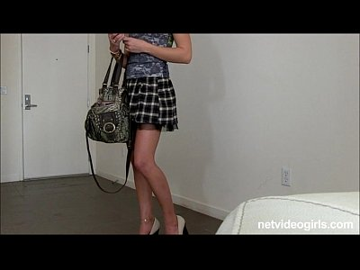 Pov Oral xxx: Blonde amateur with mile long legs begs