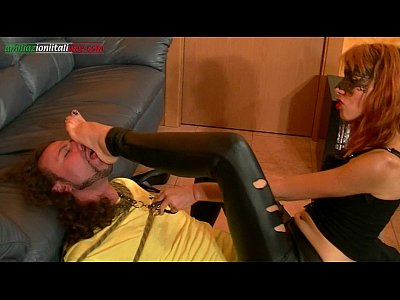 Domination European Femdom video: UI003-The Thief, First Episode - Foot Fetish HD