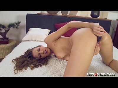 Czech Dildo European video: She Orgasms So Hard She Almost Faints