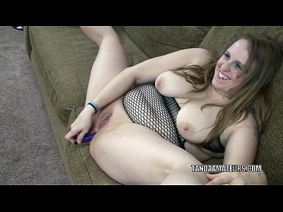 Bbw Chubby Dildo video: Plump MILF Alexsis Sweet bangs her ass with a toy
