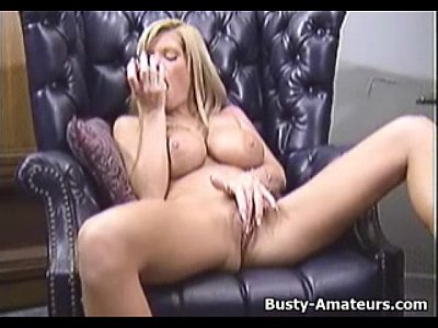 Tits Softcore Boobs video: Busty amateur Tera masturbates her pussy