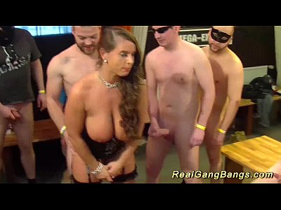 Anal German video: big breast stepmoms first real ganbang