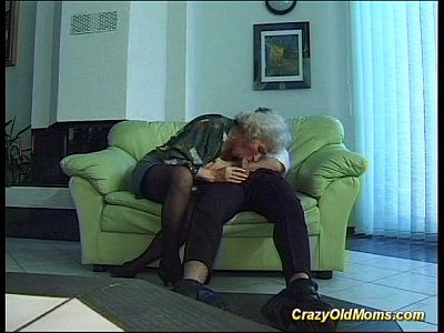 Anal Blowjob Cumshot video: old and young