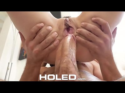 HOLED Big dick injected into tight brown asshol...
