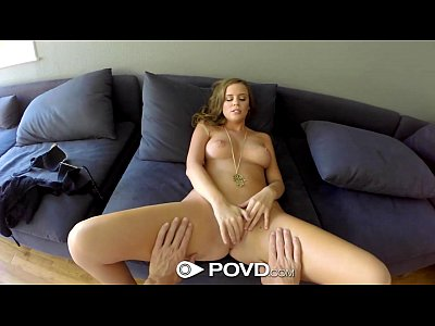 Pov Blonde Blowjob video: HD POVD - Alexis Adams fucks a stranger from the park