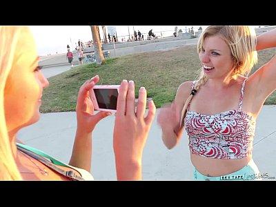 Fingering Pov Licking video: Skateboard Beach Babes Tara Morgan, Mandy Armani