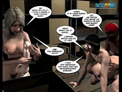 3d comic desires... of the flesh