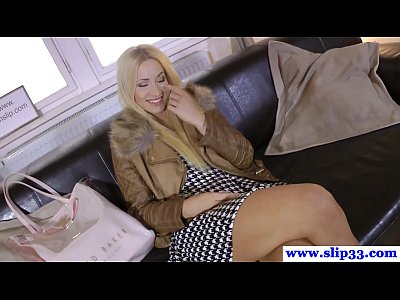 Pov Blowjob Shaved video: Longlegged eurobeauty pov sucking cock