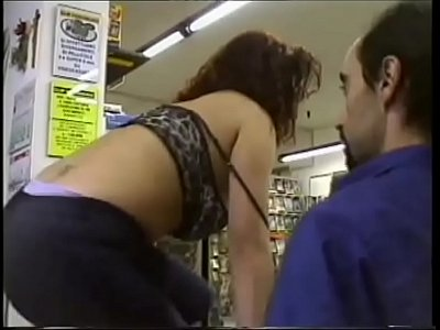 Fuck me in the sex shop