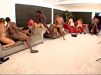 Tits Black Ebony video: Big Phat Wet Ass Orgy 3 Part 1