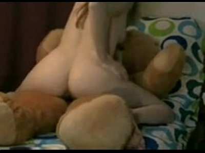 pussy legs wide bent over