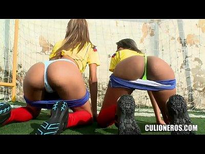 Порно фильм с колумбийскими телками