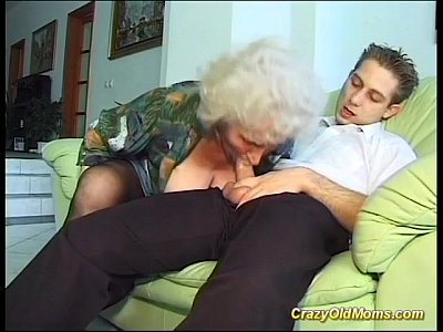 Anal Blowjob Cumshot video: busty crazy old mom needs only fresh strong cocks