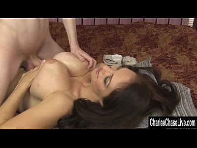 Cumontits Cumshot Faketits video: Sexy MILF Charlee Chase Gets A Pearl Necklace