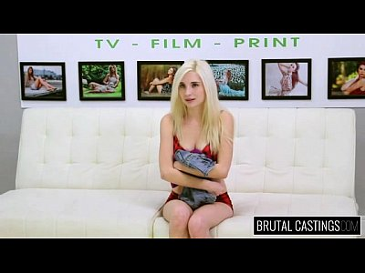 Cute Teen video: Brutal Castings Piper Perri