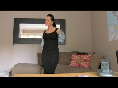 British Casting Creampie video: FakeAgentUK Tattoed chick deepthroats and gets creampie award