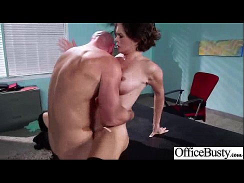 Hot Girl (krissy lynn) With Big Juggs Get Banged In Office mov-23