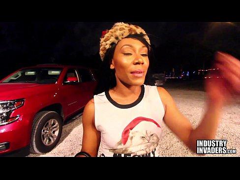 Jayla Foxx fudendo com negão