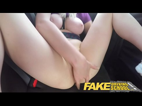 Fake Driving School Naughty learner gets a deep...
