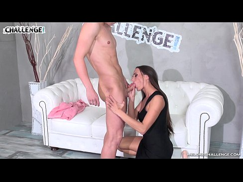Melonechallenge - Mea Melone like the guy who show her good fuck and creampie