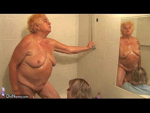 Old shower sex