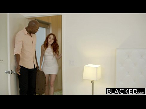 12 min Red Head Model Amarna Miller Interracial Creampie Porn Clip