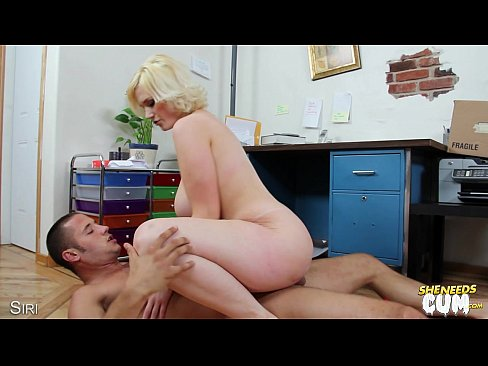 Bbw cock riding blonde busty