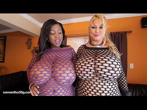 big bouncing naked tits
