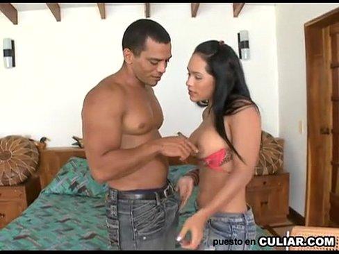 Colombiana Com Lindo Peitos E Rabo Fodendo Gostoso