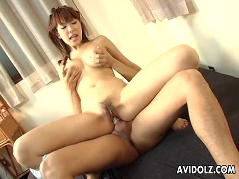 Asian hairy cunt receives a sweet dick in