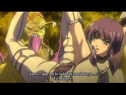 【エロアニメ 凌辱】ナメクジに囚われ触手凌辱