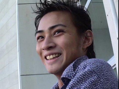 [ゲイ動画] しょうゆ顔のイケメンハーフが彼氏に内緒でハメ撮り撮影決行!