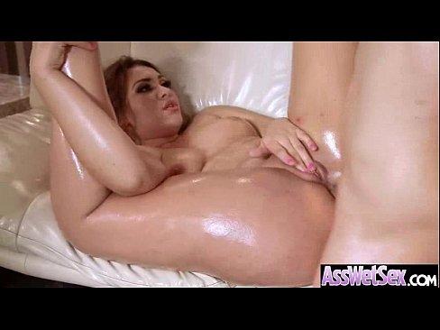 Redhead wife fucking huge cock