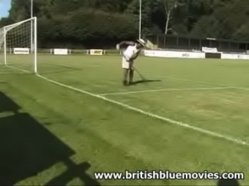 British interracial 3some hardcore dogging sex