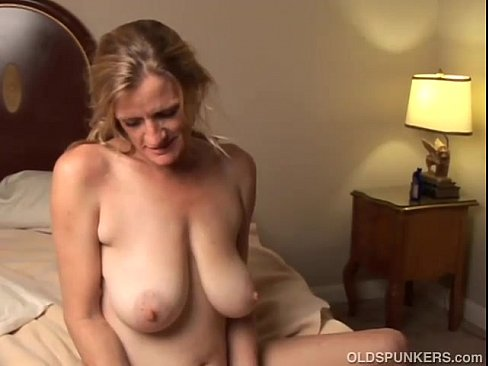 Amateur milf fucks sons friend