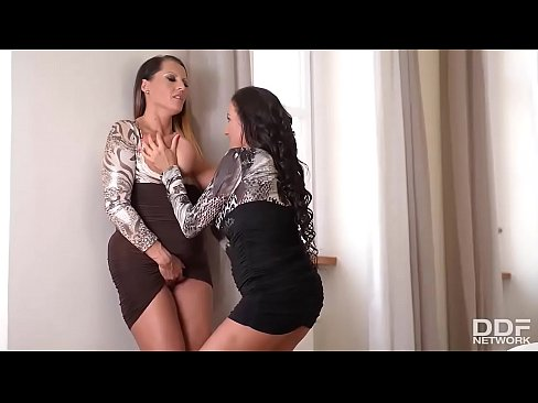 Busty Affair - Luxury Lesbian Coworkers cum wit...