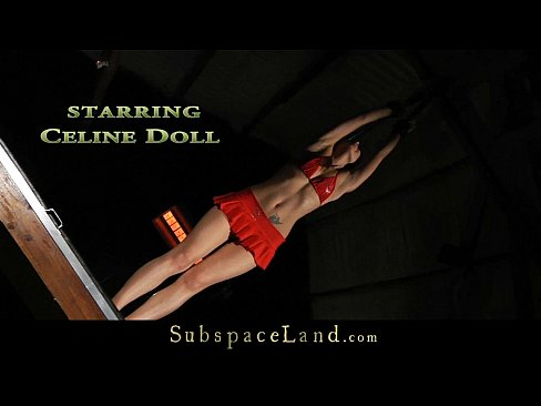 Celline Doll screaming of pain in submission