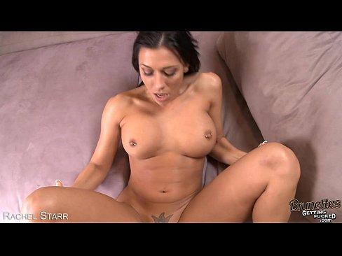 8 min Sexy brunette Rachel Starr suck in POV tnaflix.com