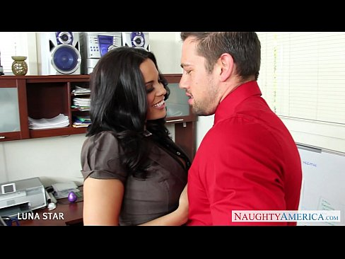 8 min Office babe Luna Star riding cock teen