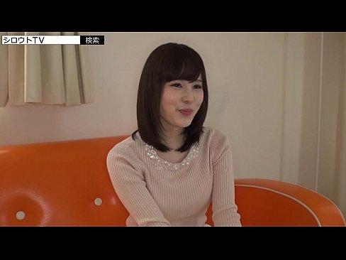 人気AV女優の鈴村あいり並の色白美人は女子大生・奏音しおり☆美乳をタップリと味わいます☆