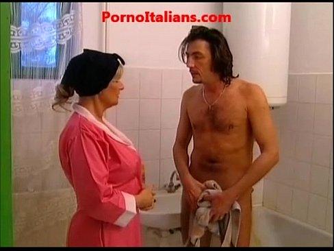 italiana mamma sega