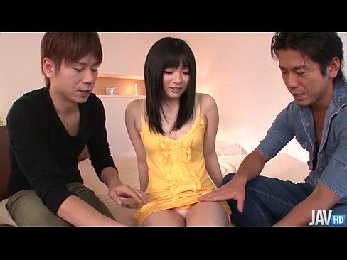 (モザ無ムービー)前田陽菜 クロ髪美10代小娘がサンピーSEXで美マンに生生入れされてたっぷりナカ出し