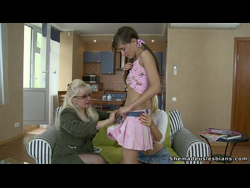 2 farm grannies seduced by young man - 1 part 2
