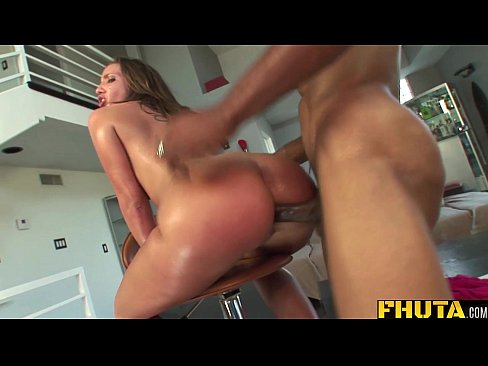 FHUTA - A Big Black Cock in Her Titght Ass