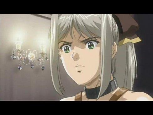 銀髪の姫騎士がエロ乳を露出させた恥ずかしい格好で犯され続ける!