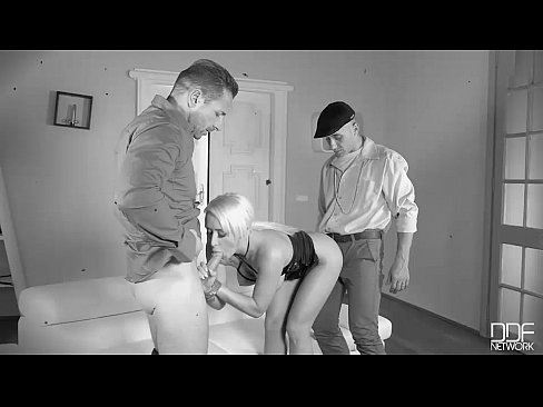 Hipster Double Penetration - Subby Fucked in The Ass By Two