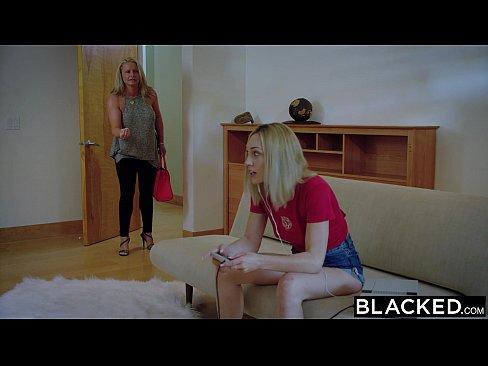 Dando Pro Namorado Negro Da Mamãe
