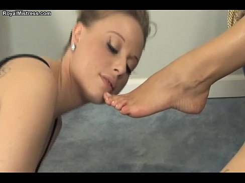 lesbian feet domination