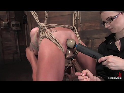 Angel corte tied up tight in lingerie - 1 part 8